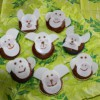 Kindergeburtstag: Muffins mit Affengesichter backen